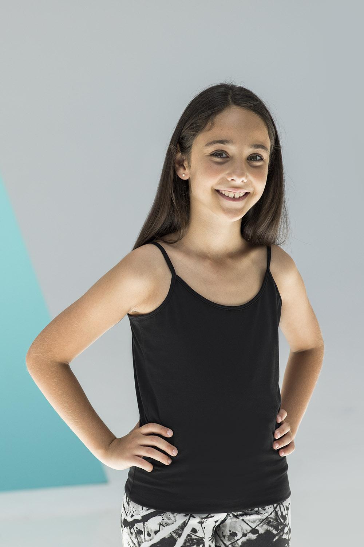 Skinnifit Girls Fashion Crop Top