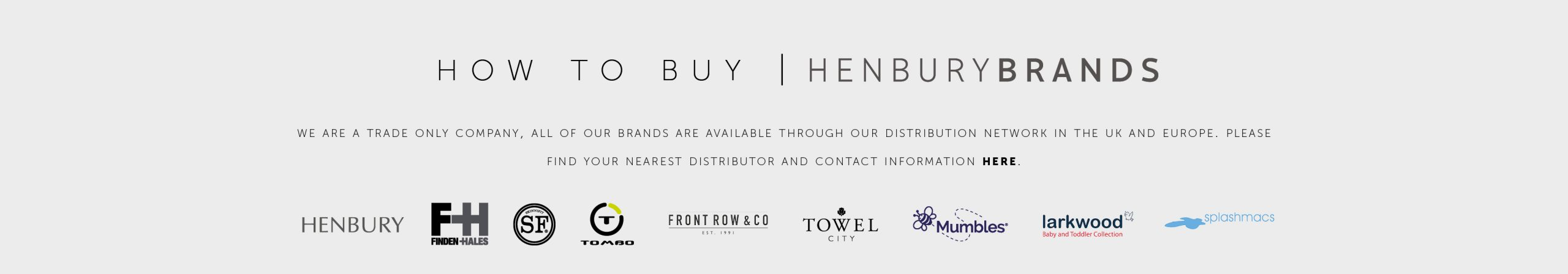 henbury brands how to buy- grey